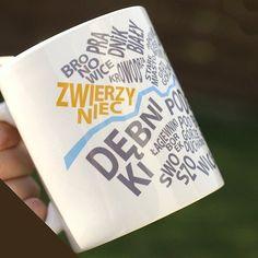 Kubek Krakowski Dzielnice (proj. One Mug a Day), do kupienia w DecoBazaar.com