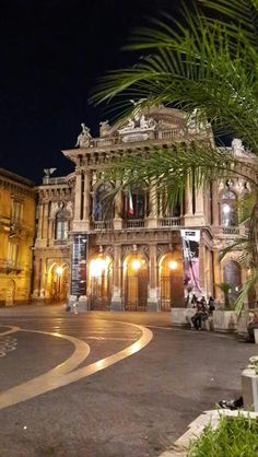 Teatro Massimo Bellini in Catania - Sicily, Italy Cefalu Sicily, Catania Sicily, Sicily Italy, Places Around The World, Around The Worlds, Beautiful World, Beautiful Places, Sicily Travel, Places In Italy