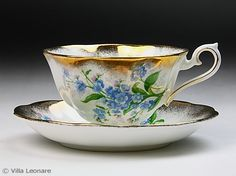 Royal Albert Forget Me Knot cup and saucer