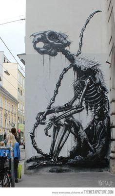 Awesome street art found in Vienna…