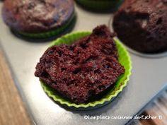 Les plats cuisinés de Esther B: Bouchées de brownie Esther, Brownies, Breakfast, Desserts, Food, Chocolate Fondue, Brownie Bites, Plain Yogurt, Cake Brownies