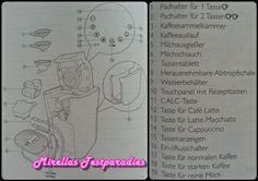 Und hier seht ihr die Bestandteile der neuen Senseo Latte Duo Padmaschine.