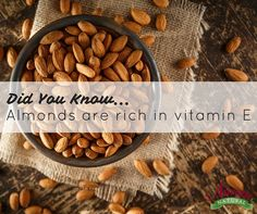 Did you know that #almonds are rich in vitamin E? They can even help with weight loss!   Whether Barbecue, Honey Roasted, or Hickory Smoked -- Celebrate #NationalAlmondDay by snacking on your favorite flavor!