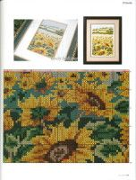 Lovely Sunflower 5 of 7 Cross Stitch Charts, Cross Stitch Patterns, Cross Stitching, Cross Stitch Embroidery, Cross Stitch Geometric, Cross Stitch Landscape, Butterfly Flowers, Cross Stitch Flowers, Needlepoint