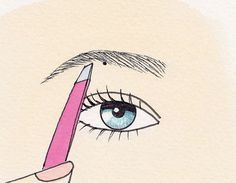 Eyebrow Shaping Pluck the Perfect Eyebrows… I pin this for all women everywhere who do their own brows. Eyebrow Shaping Pluck the Perfect Eyebrows… I pin this for… All Things Beauty, Beauty Make Up, Diy Beauty, How To Do Eyebrows, Perfect Eyebrows, Shape Eyebrows, Eye Brows, Eyebrow Shapes, Plucking Eyebrows