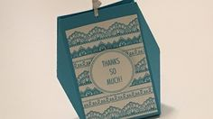Delicate Details Gift Box with Wings - Video Tutorial with new Stampin' ...