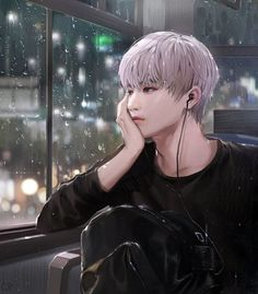 This looks like NCT Taeyong but idk Kpop Anime, Anime Korea, Korean Anime, Korean Art, Manga Anime, Bts Art, Ken Tokyo Ghoul, Nct Taeyong, Handsome Anime