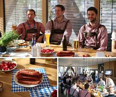 Sausages and beer for breakfast? Dont mind if we do #Oktoberfest #39JFK