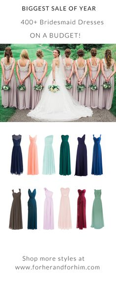 Up to 50% off ALL bridesmaid Dresses and FREE U.S Delivery in JAN, DON'T MISS IT!