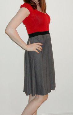10 Min. DIY - Kleid aus altem T-Shirt