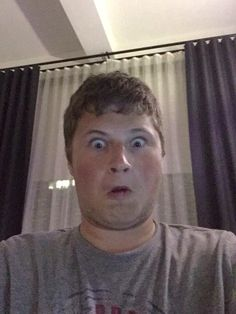 Graser's first selfie was on Will's account