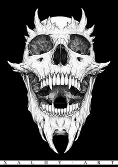 blackzipperteeth When age-old in thought, this pergola is enduring a modern day rebirth most of Skull Tattoo Design, Skull Design, Skull Tattoos, Dark Artwork, Dark Art Drawings, Heavy Metal Art, Satanic Art, Skull Wallpaper, Desenho Tattoo