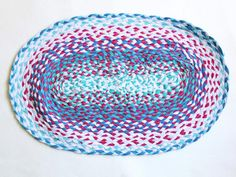How to Make a Braided Rug with Upcycled T-Shirts >> http://www.diynetwork.com/decorating/how-to-make-a-braided-rug-from-old-t-shirts/pictures/index.html?soc=pinterest