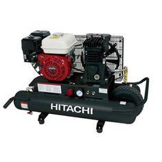 Hitachi EC2510E 5.5-HP 8-Gallon Wheelbarrow Air Compressor w/ Honda Engine at Air Compressors Direct includes free shipping, a factory-direct discount and a tax-free guarantee.