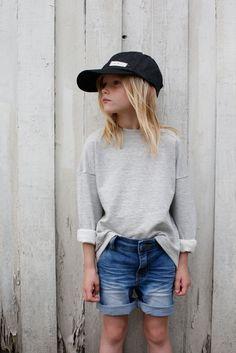Code Cool  Soho shorts + Lo sweater + Harlow denim cap Photo: Max Modén