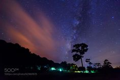 Milky Way at Phu Hin Rong Kla National ParkPhitsanulok Thailand by sripfoto. Please Like http://fb.me/go4photos and Follow @go4fotos Thank You. :-)