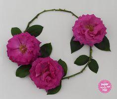 Rose Big Purple Sugar Rose, Floral Wreath, Wreaths, Purple, Big, Flowers, Plants, Decor, Bud