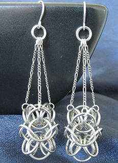 The earrings above are Turkish Orbital Chandeliers by SteamPunkGarage on Etsy.