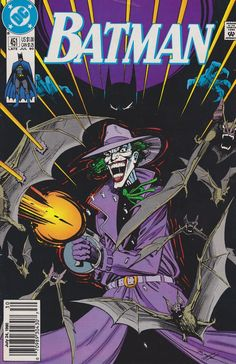 A truly iconic cover by the late Jim Aparo. Always loved the purple trench and the pierced bats.
