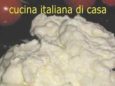 Ricetta squacquerone fatto in casa Best Cheese, Homemade Cheese, Kefir, Queso, Ricotta, Allrecipes, Mozzarella, Mashed Potatoes, Food To Make