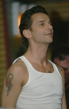 Dave Gahan of Depeche Mode during Paper Monsers tour