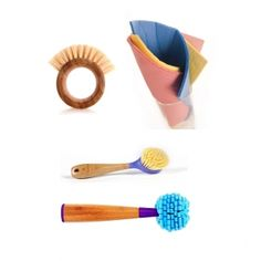 Eco-friendly and Pretty! Cleaning tools.