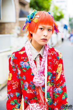 #Harajuku street2017 #japan fashion #kawaii hair&make-up