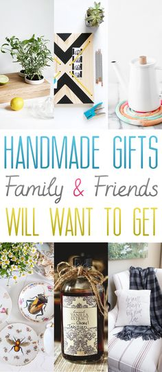 55+ Handmade Gifts Family and Friends will WANT to get - The Cottage Market