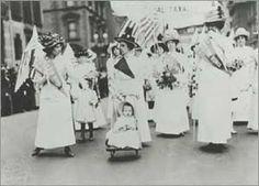 Suffragist Parade - Fifth Avenue, New York City, 1912