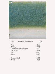 Xavier's Jade Green ^6 recipe