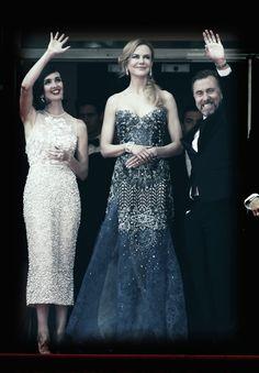 """PHOTOS Paz Vega et Nicole Kidman à la première de """"Grace de Monaco"""", Festival de Cannes"""