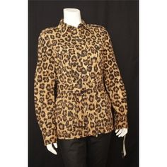 Ralph Lauren, XS - love animal print!! Just wear only one piece in print :)