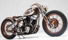 All things custom motorcycles harley davidson choppers and bobbers Harley Davidson Chopper, Harley Davidson Motorcycles, Custom Motorcycles, Custom Bikes, Vintage Bikes, Bobber, Ranger, Chrome, Barn