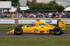 1990 Martin Donnelley, Lotus 102 Lamborghini Camel Team.