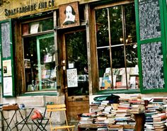 Shakespeare and co. Left Bank Paris