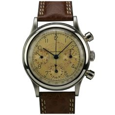 Girard-Perregaux Stainless Steel Chronograph Wristwatch