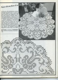 Kira scheme crochet: Scheme crochet no. Crochet Patterns Filet, Doily Patterns, Crochet Motif, Crochet Lace, Crochet Cross, Crochet Round, Thread Crochet, Mandala Rug, Crochet Dollies