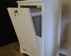 Handmade Furniture Solid Wood Wooden Laundry by honeystreasures