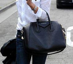 simple vintage leather bag