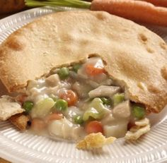 "supposedly the ""Worlds Best Chicken Pot Pie Recipe"" -- I'm game to try it!(there are recipes for with & without veggies)"