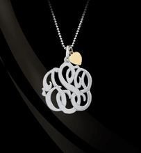 Shop our beautiful Monogram style mother necklace, Custom made for mommy, with her initials, this is the hottest trend in personalized jewelry. You may purchase additional charms for each child in a 3 monogram form or single initial - optional