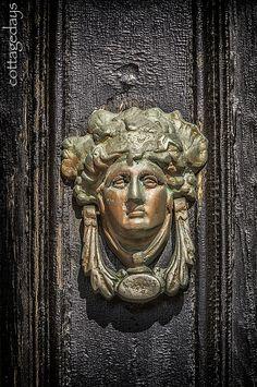 Victorian door knocker by Cottage Days, via Flickr