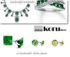 Julian Blogi: Ylellistä korumuotia ja trendikästä vihreää