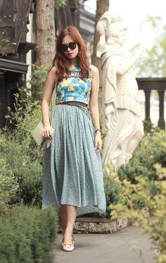4 tips mặc đẹp với chân váy midi nữ tính - 10