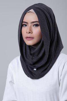 Charcoal Beauty Full Girl, Lacoste, Shawl, Hoodie, Charcoal, Womens Fashion, Turbans, Shopping, Islam