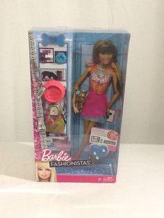 2011 Barbie Fashionistas Nikki AA #Mattel and pet