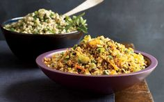 Give traditional couscous a new spin with this recipe for lime- and mint-flavored Israeli couscous.