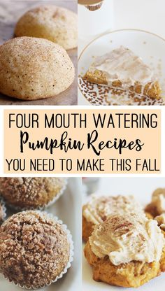 Four Pumpkin Recipes