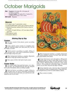 Floral Coasters Pg.26