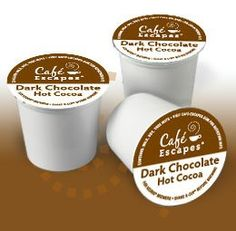 Cafe Escapes Dark Chocolate Hot Cocoa K Cups Ingredients